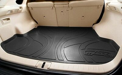 Cargo BLACK Floor Liners Mats  Custom Fit MAXLINER MAXTRAY Trunk Mat (Custom Trunk Mat)