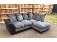 DECENT BRAND NEW DYLAN CORNER SOFA WITH AMAZING DISCOUNTED OFFER IS AVAILABLE