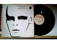 Tubeway Army – Tubeway Army, VG, released on Fame in 1983, Electronic New Wave Post Punk Vinyl LP