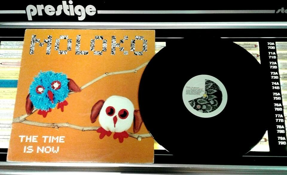 Moloko – The Time Is Now, VG, 12 inch single, released on Echo in 1990, Electronic Dance Vinyl