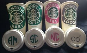Personalised Starbucks Reusable Travel Mug