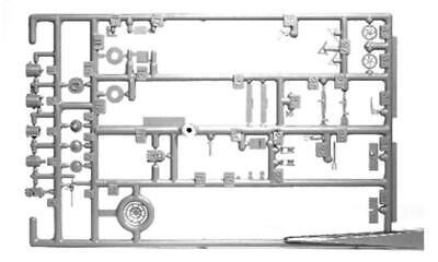 Tichy Train Group #3013 HO Scale Brake Gear AB Style (1 set)