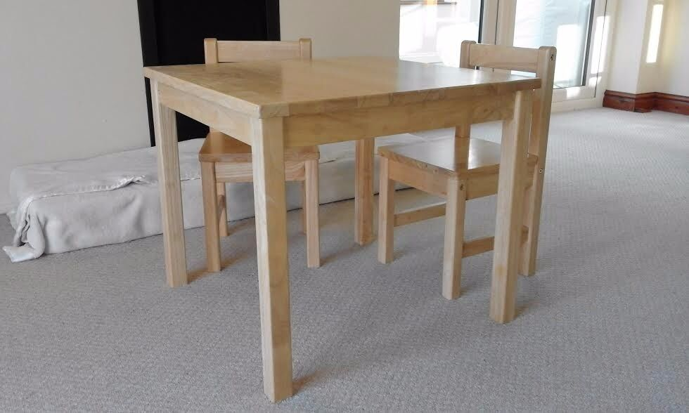 Kids John Lewis Wooden Table And Two Chairs Set In Norwich Rh Gumtree Com