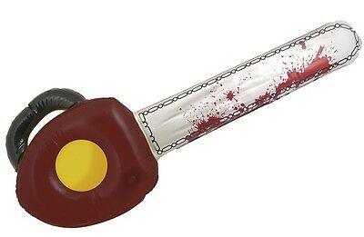 71cm Aufblasbar Blutige Kettensäge Texas Massacre Halloween Kostüm Requisite