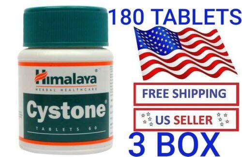 3 BOX 180 TABLETS HIMALAYA CYSTONE Anti Kidney Stone Urinary Tract Infections