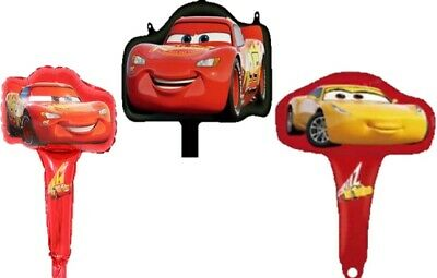 Disney Cars Balloons (Disney's Pixar Cars 3 18in Foil Balloon's NEW FREE)
