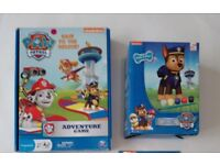 Paw Patrol game and Paint Your Own Chase