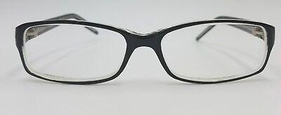 Zimco Prescribed Eyeglasses BLK/CRYS size 51-16-135 Black Frame (Prescribed Eyeglasses)