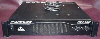 EUROPOWER EP2500 2x1200-Watt Stereo Power Amplifier. BEHRINGER. for sale  Shipping to South Africa