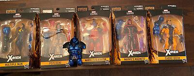 MARVEL LEGENDS X-MEN APOCALYPSE BAF WAVE SET OF 5 SABERTOOTH PSYLOCKE GLADIATOR!