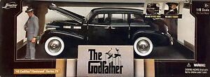Le Parrain Movie Car 1:18 1940 Cadillac THE GODFATHER diecast