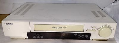 Toshiba Kv-7168a 24-hour Time Lapse Security Vcr Video Cassette Recorderplayer