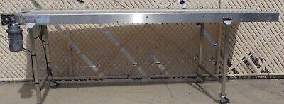 10 X 10 Stainless Steel Belt Conveyor