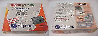 Tintoretto Tinto-PC ISDN Modem 128/64 Versione INTERNA Cod.8D5408