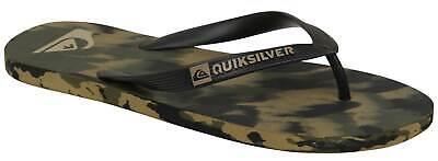 Quiksilver Molokai Marled Sandal - Black / Brown / Green - New