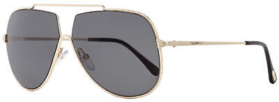 Tom Ford Aviator Sunglasses TF586  Chase-02 28A Gold/Black 61mm FT0586