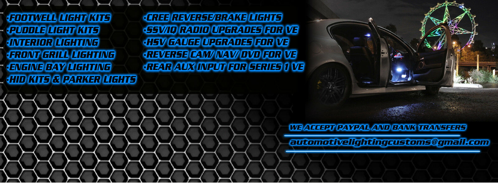 Automotive Lighting Customs