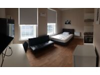 Studio flat in Kings Court, Hyde road, Manchester