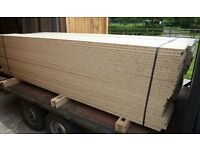 50 Pieces of NEW 18mm EGGAR Commercial Grade High Density Chip Board 8ft X 11in (2445mm x 275mm)