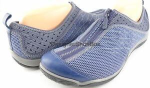 MERRELL LORELEI ZIP J56142 Indigo Mesh Designer Sneakers MISMate L 9.5 R 10