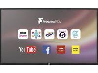 "40"" JVC SMART WIFI 4K UHD LED TV CAN DELIVER"