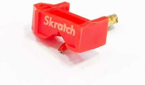 JICO × Skratch SHURE N44-7 compatible exchange needle Japan new free shipping