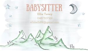 BABY SITTING SERVICE Black Rock Bayside Area Preview