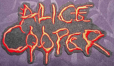 ALICE COOPER PATCH LOGO I'M 18 SHOCK ROCK HARD ROCK HEAVY METAL CLASSIC ROCK