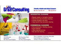 GRAZT CLEANING SERVICES DOMESTIC CLEANERS IN MOTHERWELL AND GLASGOW