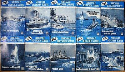 SOS Schicksale deutscher Schiffe Band 180 - 189  in Z0-1, Z1, Z1-2