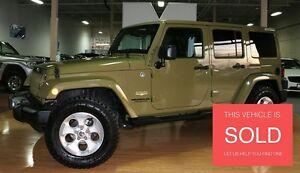 2013 Jeep WRANGLER UNLIMITED Sahara - NAVIGATION|LEATHER|ALPINE|
