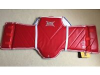 MTX Taekwondo TKD Chest Body Protector WTF - Size 4 (Large) - NEW