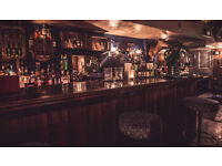 Part Time or Full Barback in amazing Cocktail bar in Shoreditch