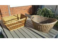 Vintage Wicker baskets / photo props