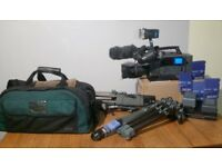 Sony DSR-250P CAMCORDER INCLUDING TRIPOD AND MANY MORE