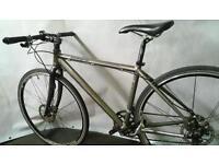 Chris Boardman CBoardman Pro Lightweight Hybrid Road Bike Medium with Hydraulic Brakes