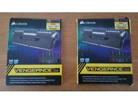 CORSAIR VENGEANCE RGB DDR4 3600 C18 B-DIE RAM - 32GB TOTAL (TWO SETS OF 2x8GB)