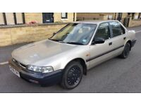 1990 (H Reg) HONDA ACCORD 2.0l AUTO - Mileage ONLY 58,000 miles, MINT CAR, 4 Door Saloon (1990)