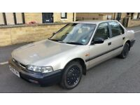 1990 (H Reg) HONDA ACCORD AUTO- Mint Condition, Low Genuine Mileage, 4 Door Saloon, FUTURE CLASSIC