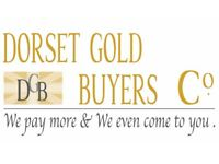 GOLD WANTED BEST PRICES PAID IN DORSET WE EVEN COME TO YOU OR COME TO US!!