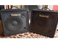 2 x Roland KC300 speakers