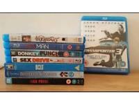 8 x Original Blu Rays