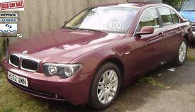 BMW 745i / BMW 730D / BMW540