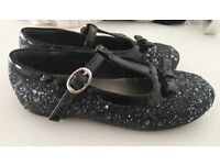 Girls next sparkly shoes size 9