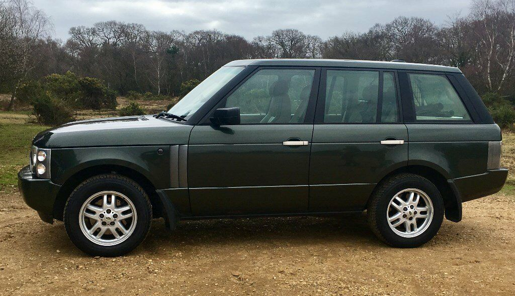2005 range rover vogue dark metallic green the car is in good condition in salisbury. Black Bedroom Furniture Sets. Home Design Ideas