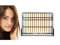 Classic Horizontal 135cm x 190cm wall bed, Clearance