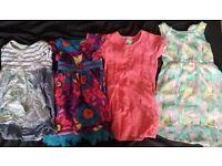 Bundle of 13 dresses, age 4-6