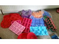 Various Cake moulds