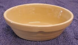 Light Brown Mason Cash Oval Pie Dish