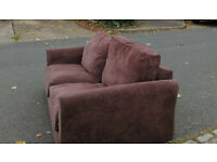 Large 2 seater sofa, good condition, cleaned